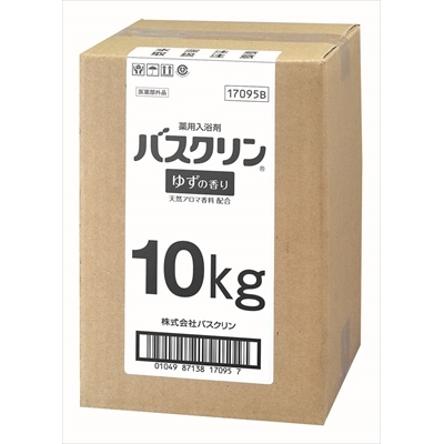業務用10KG缶バスクリン ゆずの香り×1点セット [キャンセル・変更・返品不可]