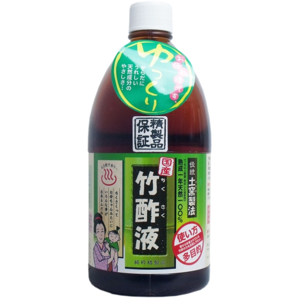 日本漢方研究所 高級竹酢液 1L お買得 キャンセル 大幅にプライスダウン 変更 返品不可