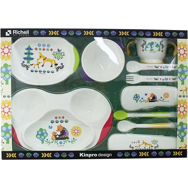 [Richelle KINPRO baby Dinnerware Set KS-5 MR] [Fun gift _ packaging]  sc 1 st  Rakuten & E-SQUARE | Rakuten Global Market: [Richelle KINPRO baby Dinnerware ...