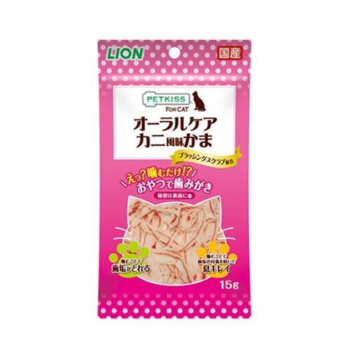 PETKISS FOR CAT オーラルケア カニ風味かま [キャンセル・変更・返品不可]