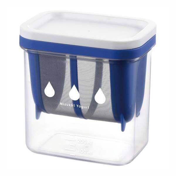 【水切りヨーグルトができる容器 ※セット販売(40点入)】[返品・交換・キャンセル不可]