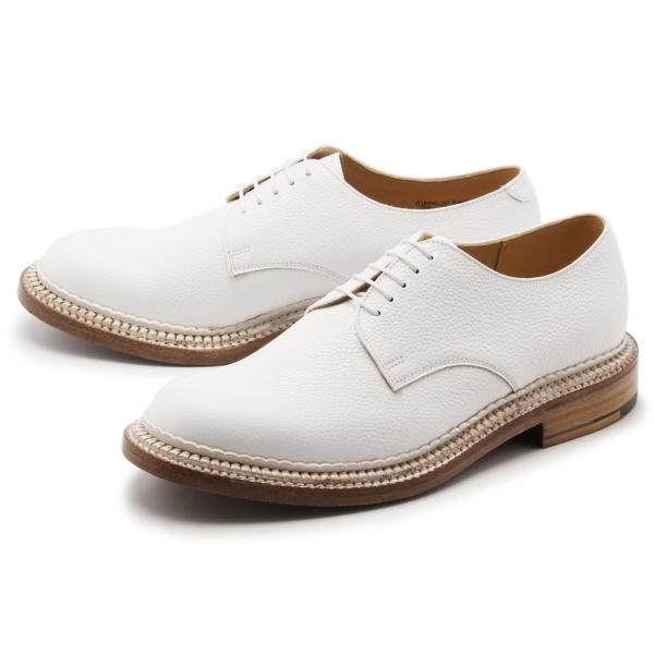 [グレンソン] 5199G カート CURT TRIPLE WELTプレーントゥ シューズ 紳士靴 ホワイト メンズ [キャンセル・変更・返品不可]