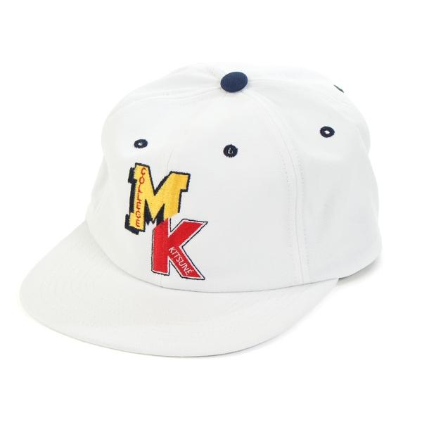 [メゾン キツネ] FW17U821 帽子 ベースボールキャップ MKカレッジ 全2色 メンズ レディース [キャンセル・変更・返品不可]