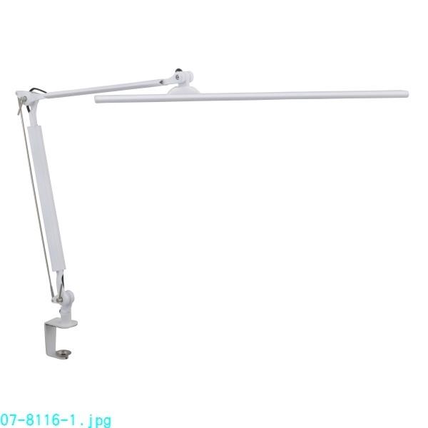 LEDタッチ式調光アームライト OAL-LK55-W ホワイト [キャンセル・変更・返品不可]