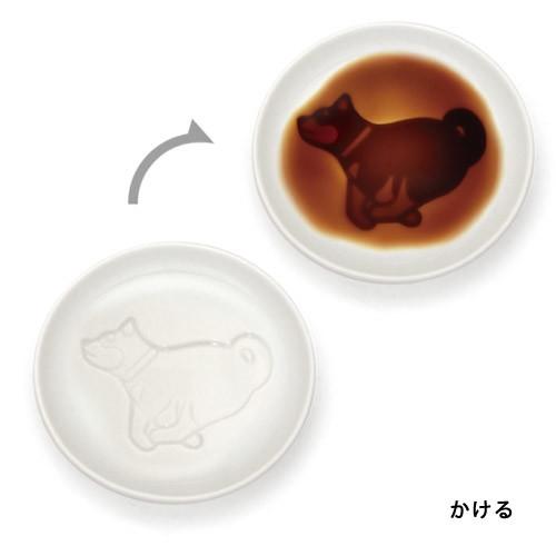 イヌ醤油皿 [キャンセル・変更・返品不可]