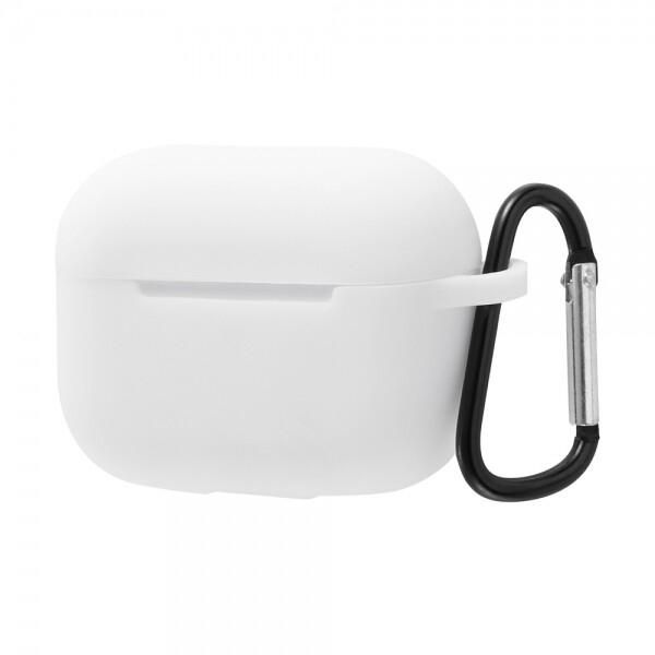 送料無料 セール価格 メール便 メーカー公式ショップ AirPods Pro シリコンケース ノーダスト 変更 ホワイト 返品不可 キャンセル