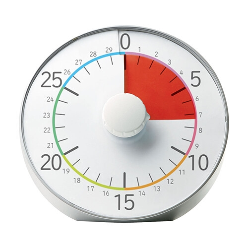 ソニック 人気ブレゼント 商店 タイマー トキ サポ 時っ感タイマー 30分計 シルバー 返品不可 19cm LV-5328-SV キャンセル 変更