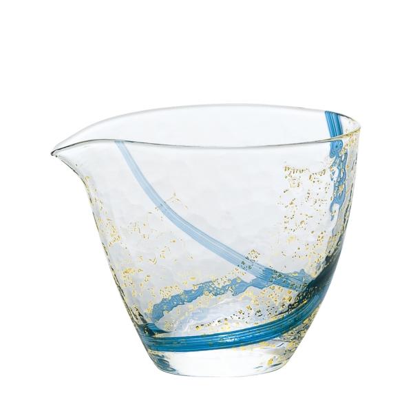 江戸硝子 八千代窯 片口 Handmade 人気ブランド glassware made 待望 Japan キャンセル in 返品不可 変更