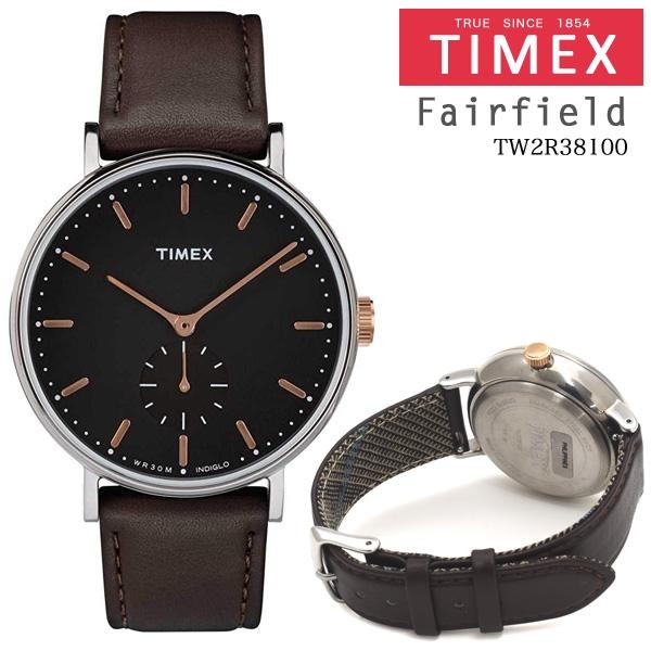 TIMEX Fairfield TW2R38100 41mm 並行輸入品 [キャンセル・変更・返品不可]