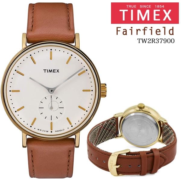 TIMEX (タイメックス) Fairfield TW2R37900 41mm ユニセックス 並行輸入品 [キャンセル・変更・返品不可]
