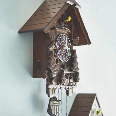 EF-CL02 カッコー鳩時計「森のログハウス」 [キャンセル・変更・返品不可]