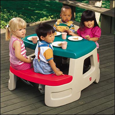 ちびっこピクニックテーブル 7500 [キャンセル・変更・返品不可][代引不可][同梱不可][ラッピング不可][海外発送不可]