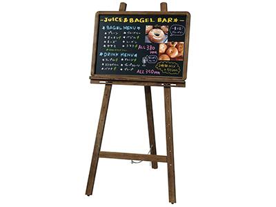 レイメイ / アンティークブラックボード(A2サイズ) & イーゼル(台) セット商品(LNB385)(LPT751)