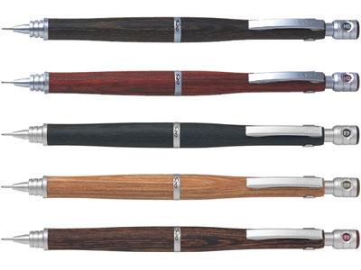 【削り出しの含浸カバ材を利用したシャープペンシルです。】 パイロット シャープペン / エストゥエンティ(芯 0.3mm・0.5mm) (HPS-2SK)【PILOT S20 シャープペン シャープペンシル シャーペン 筆記具 事務用品 デザイン おしゃれ】