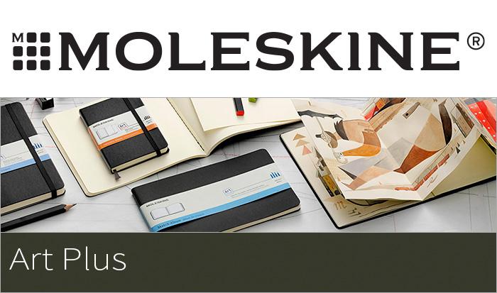 moresukin MOLESKINE/ART PLUS黑色页日语影集(大号)黑色纸高级纸张笔记本(406685)