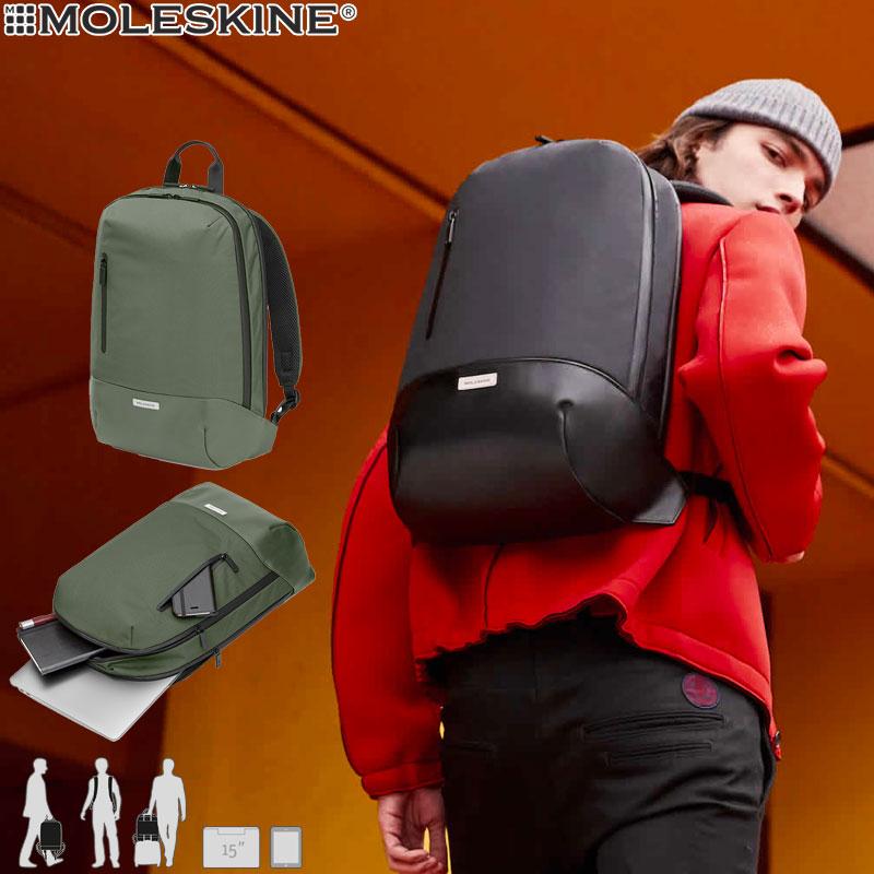 【モレスキン バッグ】モレスキン MOLESKINE メトロ バックパック モスグリーン(600998)(5181658)【バックパック リュック バッグ メンズ レディース カバン おしゃれ 大人】