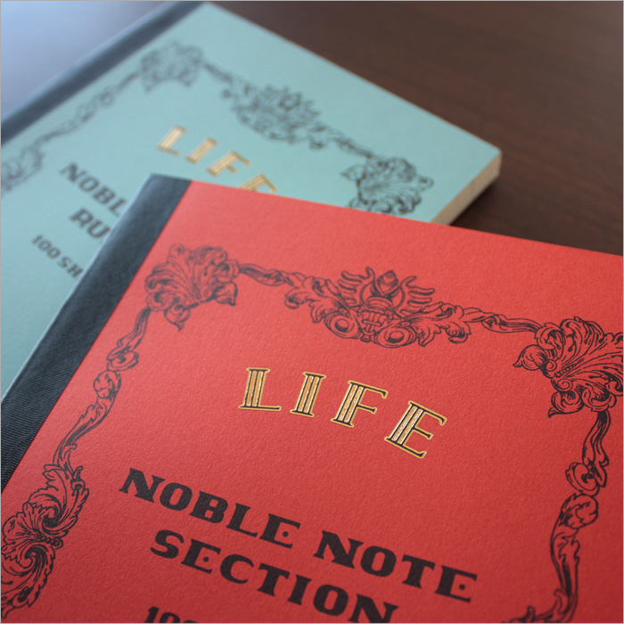 Life LIFE / Noble notebook (A5 size, plain page) five set (N36)