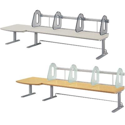 コクヨ / デスクシェルフ(RESPACE-C)(サイド棚板付き)可動式仕切板4枚付き 棚1段【EAS-DSC8033N】