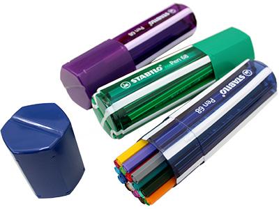 出色 STABILO Pen68 ビッグペンボックス 水性ペン 太字 カラーペン 大人気 サインペン 20色セット 水性インク イラスト 水性ファイバーペン かわいい ペン68 ドイツ製 輸入 おしゃれ デザイン 一般筆記 スタビロ 6820-1