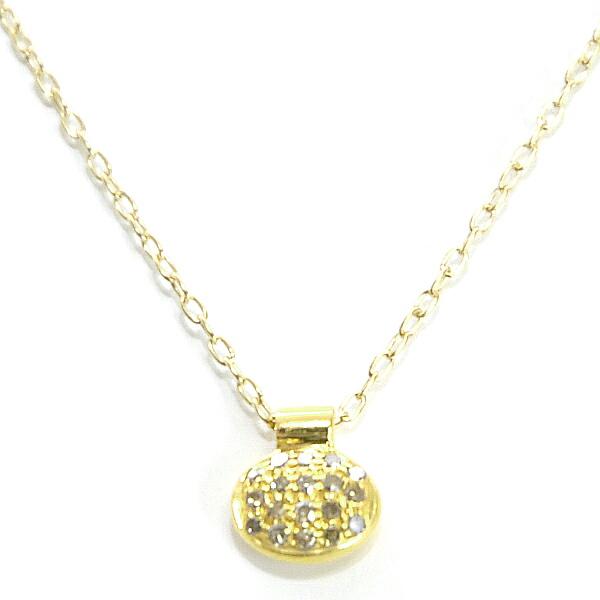 ファイブオクトーバー(5 OCTOBRE)Collier ARNO small gold-Argent dore or fin銀 純金メッキ ネックレス フランス アクセサリー