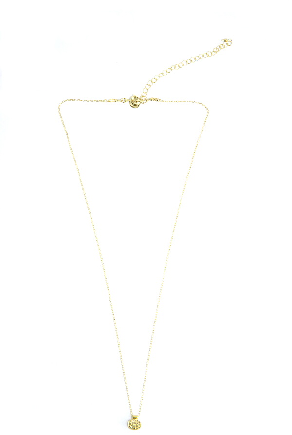 5 OCTOBRE Arno Small Necklace in Metallic Silver poHOy8UdNh