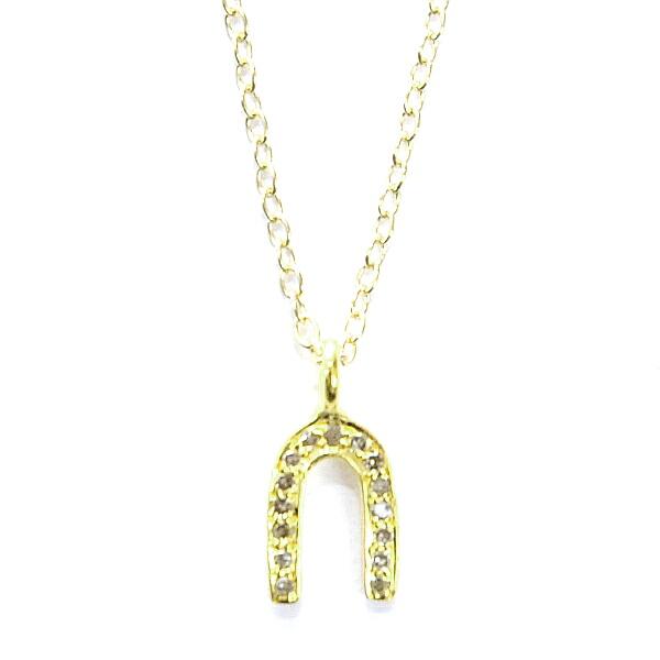 ファイブオクトーバー(5 OCTOBRE)Collier HORSE gold-Diamantダイアモンド ネックレス フランス アクセサリー