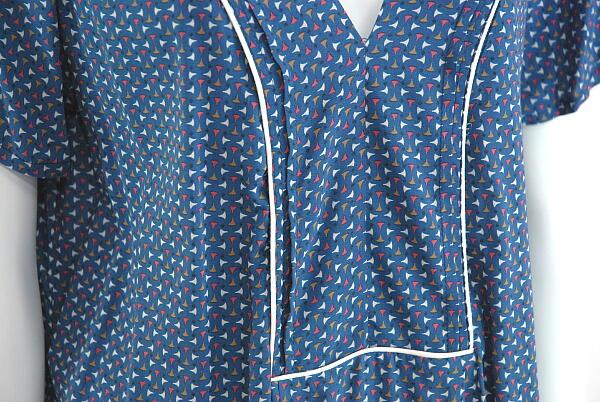 出售拥抱 (EMA 蓝色的) 衬衫法国巴黎进口