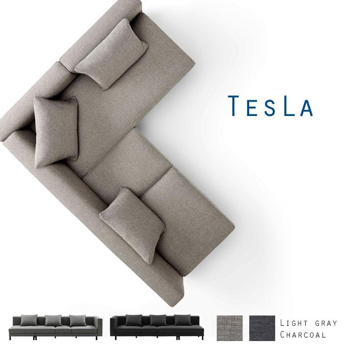 [開梱設置付き]《朝日木材加工》TESLA テスラ フェザーソファ BOSCO+ ボスコプラストランスフォームソファ クッション3個付き 高さ調節可能 9タイプの置き方 カウチソファ 3人掛けソファ コーナーソファ オットマン付きソファ ls60103a-pd2