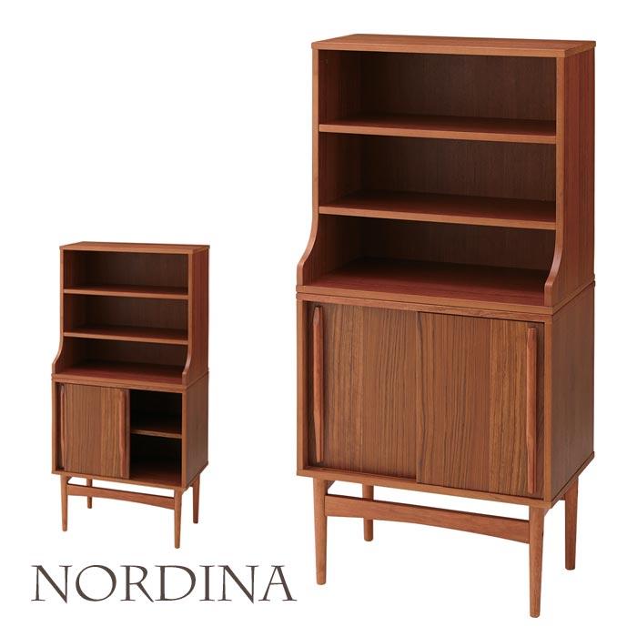 [大型家具/S]《東谷》北欧デザイン ノルディナ シェルフ 収納棚 木製 収納 ウッド ナチュラル チーク 天然木 シンプル Nordina nor-105