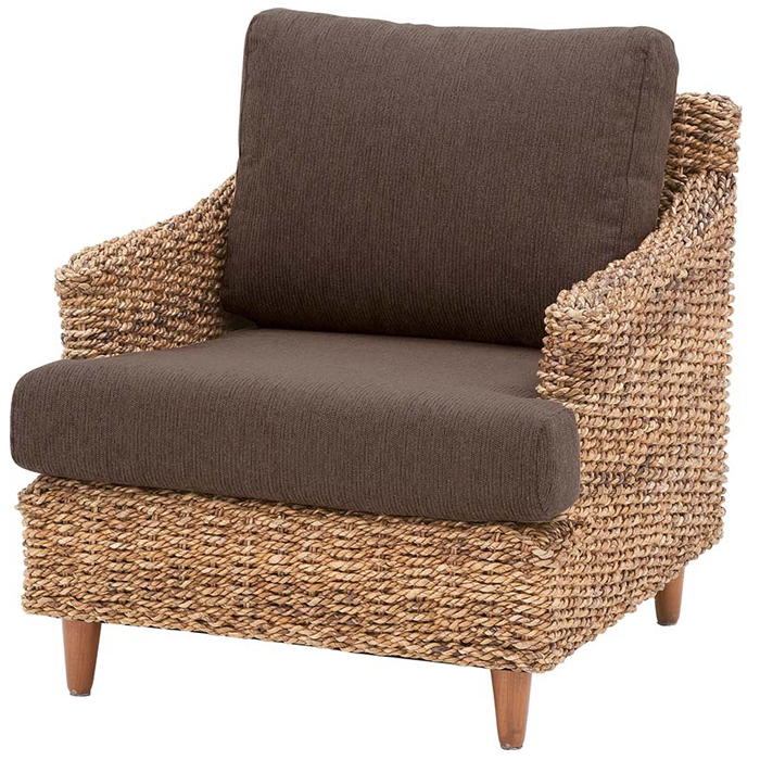 《東谷》 クラール 1人掛けソファ 北欧 木製 人気 おしゃれ おすすめ モダン シンプル ナチュラル 西海岸 リビング Cafe カフェ 一人暮らし ノルディック 一人掛け 1p 1人用 sofa ソファー チェア 椅子 コンパクト 新生活 アバカ nrs-411