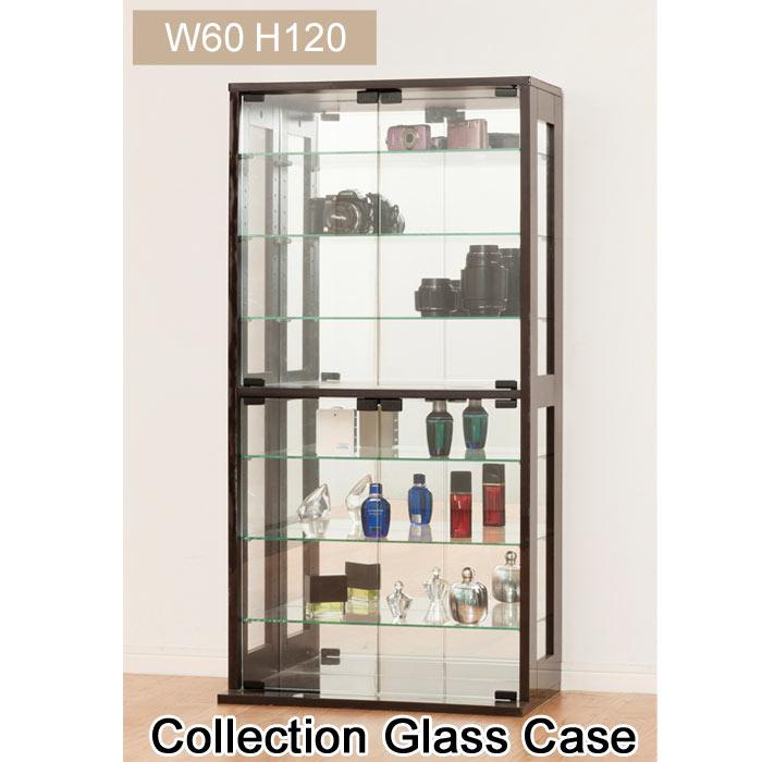[組立式家具] 《クロシオ》コレクションケース コレクションケース ガラスケース ディスプレイ棚 ガラス棚 27050 27051