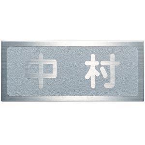 表札 戸建 ステンレス 表札(ひょうさつ) ライトタイプ  送料無料
