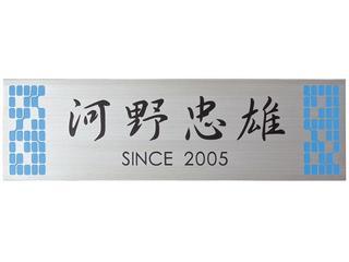 表札 戸建 ステンレス 表札(ひょうさつ) ライトタイプME-36 送料無料