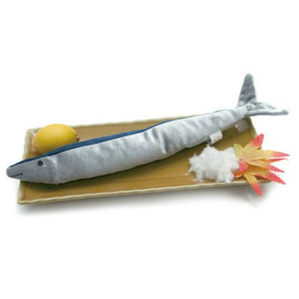 ペットのおもちゃ 秋刀魚 今が旬 おすすめ特集 美味しそ~なサンマTOY ペットトイ 高額売筋 おもちゃ 犬 猫 お魚 おもしろ ドッグトイ ピーピー TOY サンマ カシャカシャトイ