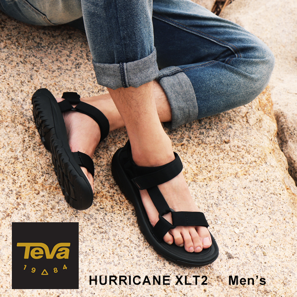 Teva Teva hurricane XLT 2 sports sandals men HURRICANE XLT 2 outs door shoes sandals beach sandal comfortable functional durable style black