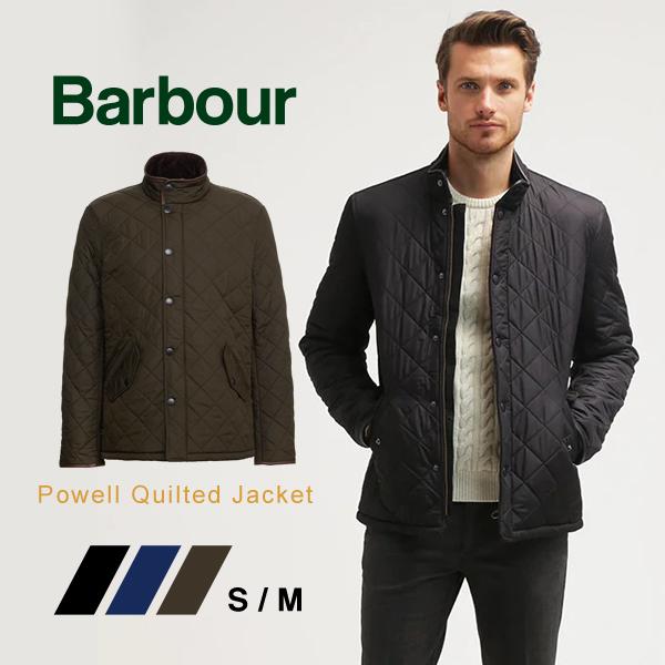 バブアー Barbour キルティング ジャケット メンズアウター Powell パウエル 男性用 キルトMQU0281 ブルゾン ナイロン クラシカル