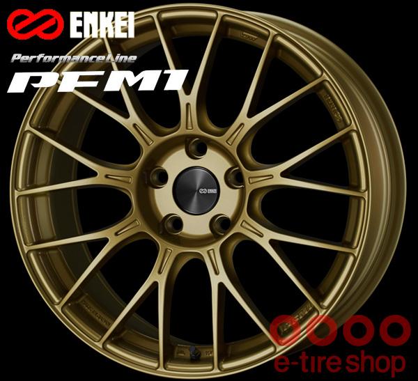 ENKEI エンケイ パフォーマンスライン PFM1 18インチ 8.5J PCD114/5 +35 カラー:ゴールド PerformanceLine PFM1 ホイール1枚