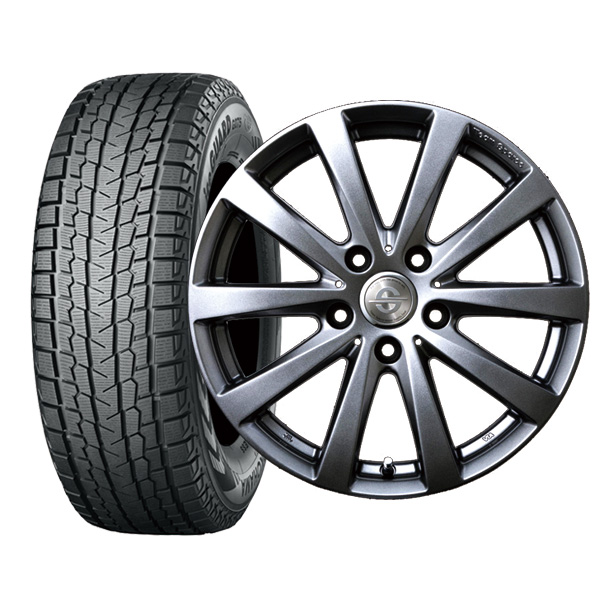 【取付対象】BMW X3(F25) 225/60R17 ヨコハマ iceGUARD SUV G075 ホイール :バラーレ 17×7.5 120/5 +35 3X162 輸入車 スタッドレス ホイールセット 4本