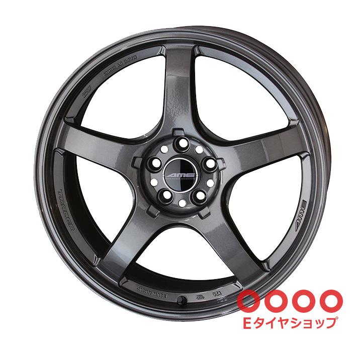 共豊 TRACER GT-V 18×9.5J PCD100/5 +38 Face2軽量化専用設計トレーサーガンブラック ホイール1枚