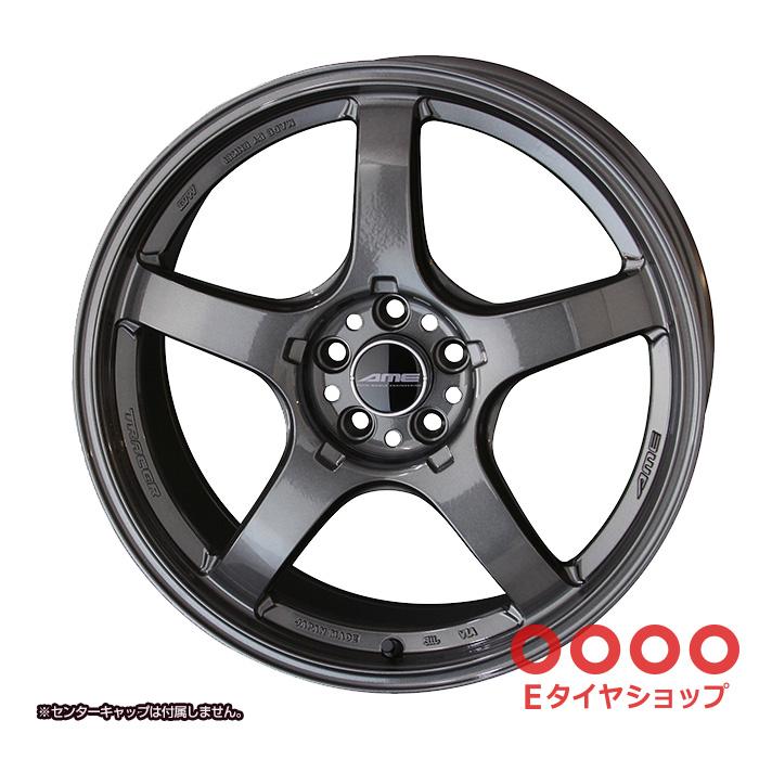 共豊 TRACER GT-V 18×8.5J PCD112/5 +35 Face1トレーサーガンブラック ホイール1枚