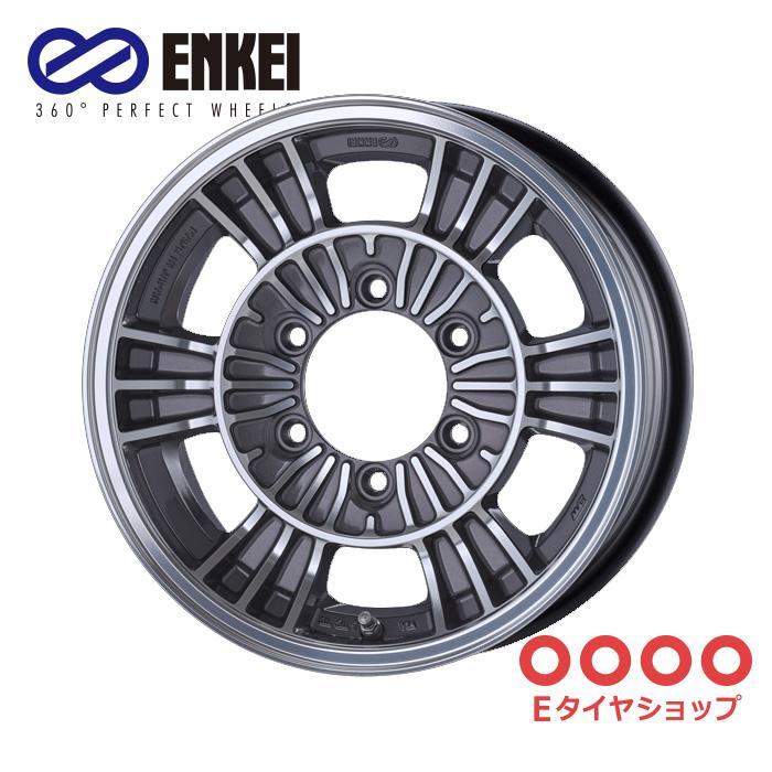 ENKEI エンケイ オールロードレーシング 15インチ 6.0J PCD139/6 +32 カラー:マシニングガンメタリック ALLROAD RACING ホイール1枚