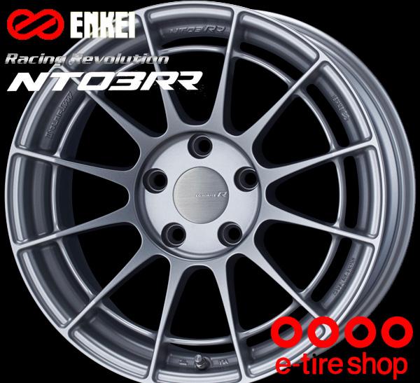 ENKEI(エンケイ) Racing Revolution NT03RR 18×10.5J PCD114/5 +25 ボア径:75φ カラー:MSS(マットスパークルシルバー) 【レーシング レボリューション エヌティー03RR】 注)ホイール1枚です