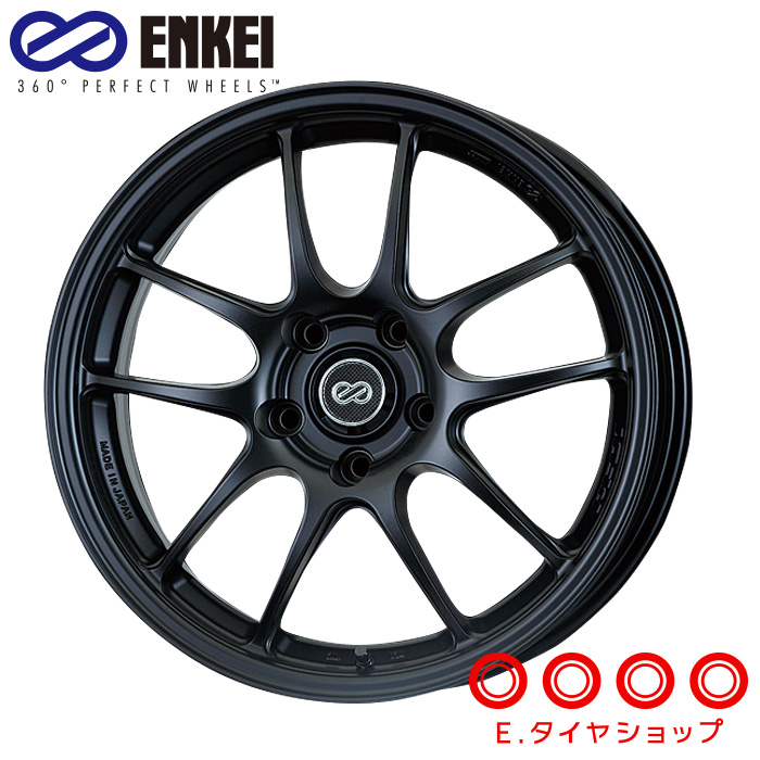 ENKEI エンケイ パフォーマンスライン PF01 18インチ 8.5J PCD114/5H +35 カラー:マットブラックPerformanceLine PF01 ホイール1枚
