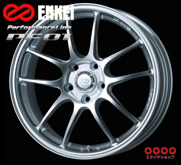 ENKEI エンケイ パフォーマンスライン PF01 15インチ 7.0J PCD100/4H +41 カラー:スパークルシルバーPerformanceLine PF01 ホイール1枚