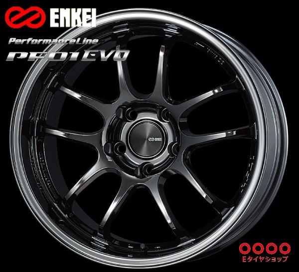 ENKEI エンケイ パフォーマンスライン PF01EVO 18インチ 10.5J PCD120/5 +22 カラー:SBK PerformanceLine PF01EVOホイール1枚