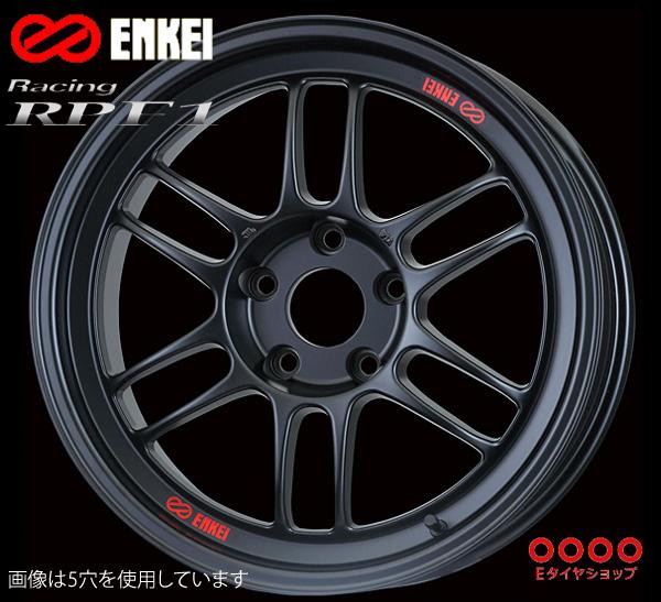 ENKEI エンケイ レーシング RPF1 15インチ 7.0J PCD100/4 +35 カラー:マットブラック Racing RPF1 ホイール1枚