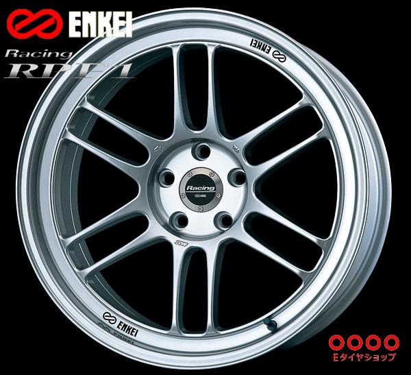 ENKEI エンケイ レーシング RPF1 17インチ 8.5J PCD114/5 +30 カラー:シルバー Racing RPF1 ホイール1枚