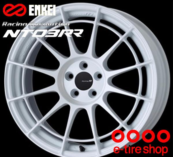 ENKEI(エンケイ) Racing Revolution NT03RR 17×9.0J PCD114/5 +63 ボア径:75φ カラー:White(グラシアルホワイト) 【レーシング レボリューション エヌティー03RR】 注)ホイール1枚です