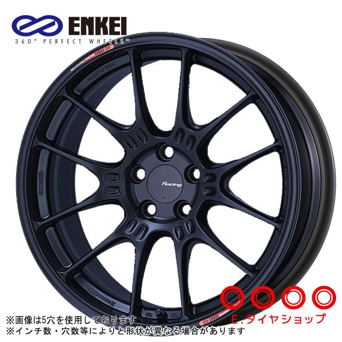 ENKEI GTC02 17×8.5 4/100 +43  φ75 カラー:マットブラック(MBK)エンケイ ホイール1枚価格