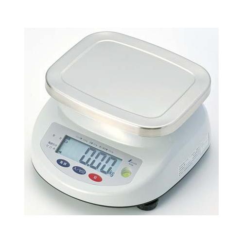 【送料無料】【シンワ測定】デジタル上皿はかり 取引証明用 15kg 70193
